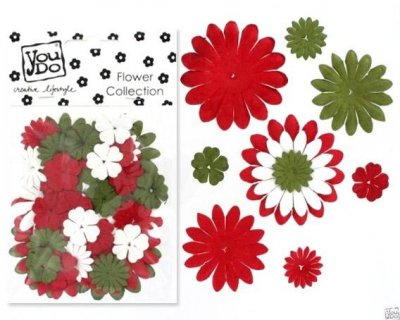 Blommor YD - Christmas Mix 44 st