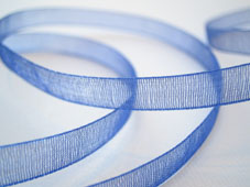 Band Organza 7mm - Royal Blue