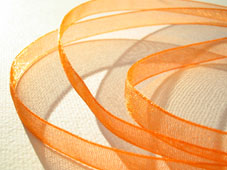 Band Organza 7mm - Orange