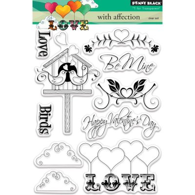 Clearstamp Set - Penny Black - With Affection