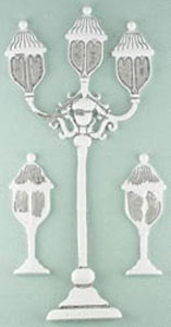 Shabby Chic Metal - Street Lamps