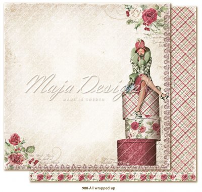 Papper Maja Design - Christmas Season - All Wrapped Up