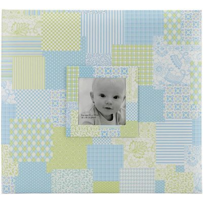 Album 12x12 MBI - Baby Boy Patch Cover Blue - Post Bound