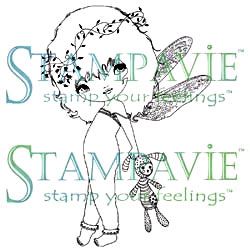 Clearstamps - Stampavie Anne Cresci - Lila Libellule