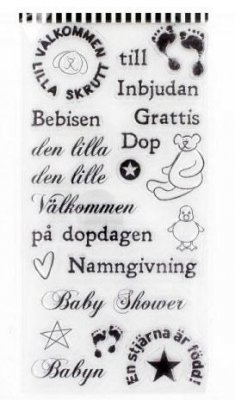 Clearstamps YouDo 10x20 - Baby Stor