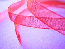 Band Organza 7mm - Azalea