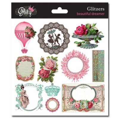 Stickers Glitzers - Beautiful Dreamer