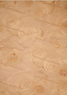 Papper Konfirmation A4 - Beige/Brun