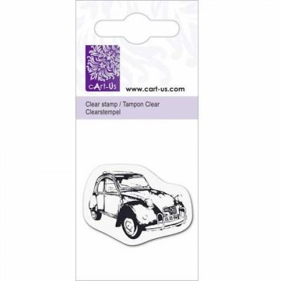 Clearstamps Cart-Us - Bil