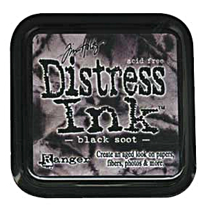 Distress Ink - Black Soot - Tim Holtz