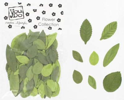 Blad 55 st - YouDo Leaves Green Mix
