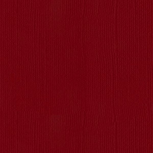 Cardstock Bazzill - Canvas - Blush Red Dark