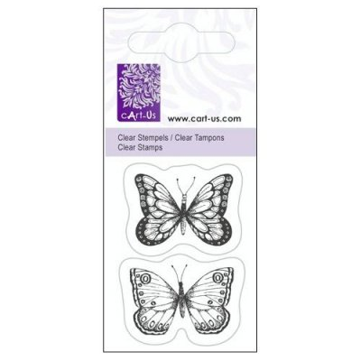 Clearstamps Cart-Us - Butterflies 2 psc