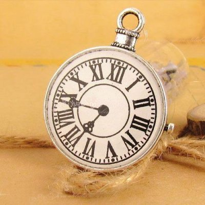 Charms 1 st - Fickur Silver 39mm