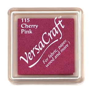 Stämpeldyna VersaCraft Small - Cherry Pink