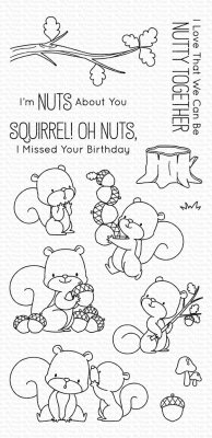 Clearstamps My Favorite Things - Squirrel