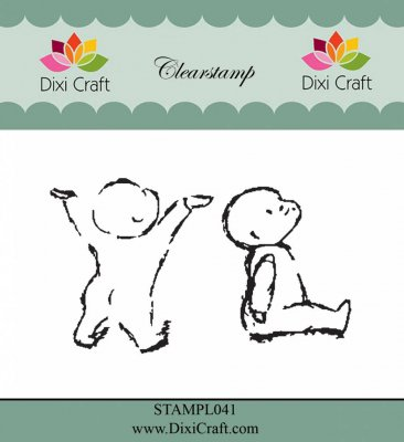Clear Stamps Dixi Craft - Babies 2