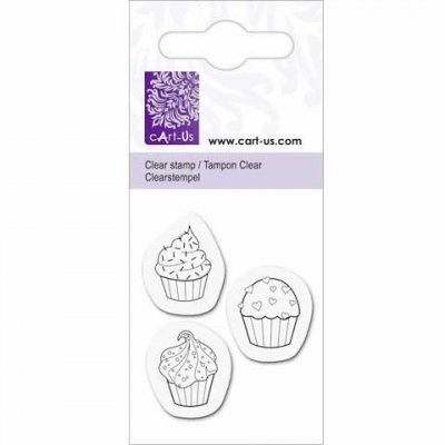 Clearstamps Cart-Us - Cup Cakes