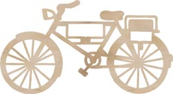 Wood Flourishes - Bicycle