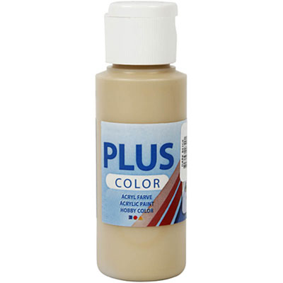 Akrylfärg PLUS Color 60 ml - Dark Beige