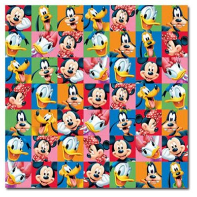 Papper Disney - Mickey & Friends Portraits