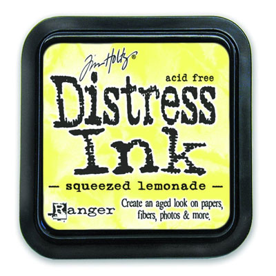 Distress Ink - Squeezed Lemonade - Tim Holtz
