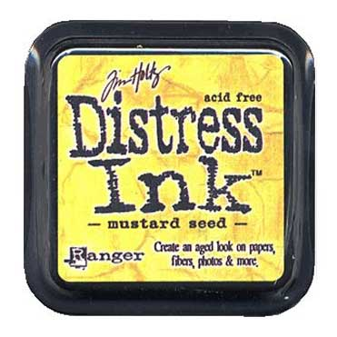 Distress Ink - Mustard Seed - Tim Holtz