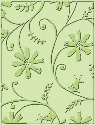Embossing Dies - Stylized Flowers