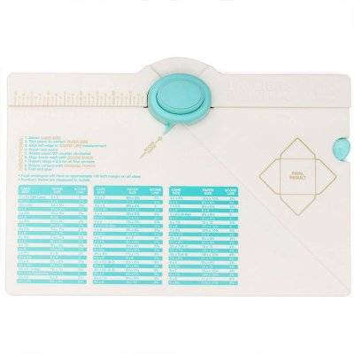 Envelope Punch Board - We R Memory Keepers - White