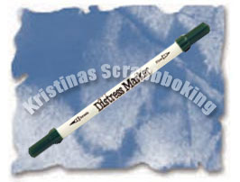 Distress Marker Penna - Faded Jeans