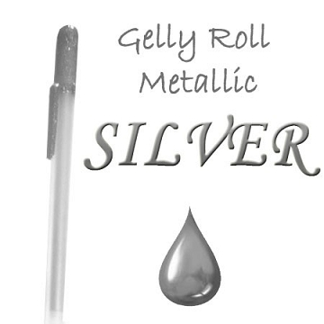 Gelly Roll Penna - Metallic Silver