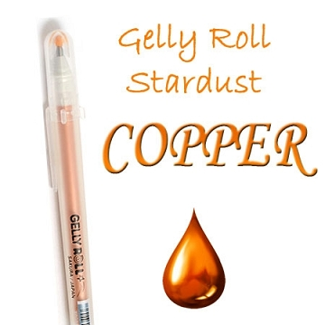 Gelly Roll Penna - Stardust Copper