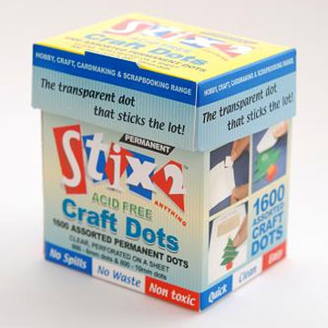 Glue Dots - 1600 st i Box - Syrafri