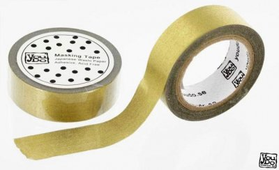 Washi Tape - Kin-Iro Gold 10m
