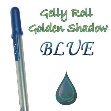 Gelly Roll Penna - Golden Shadow Blue