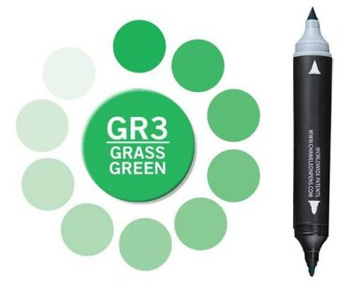 Chameleon Pen Marker - Grass Green