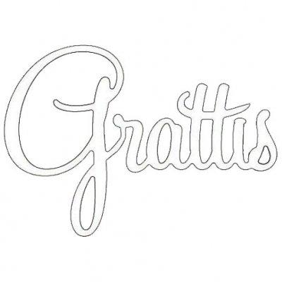 grattis dies dies grattis rak 60x48 mm roxstamps finns på PricePi.com. grattis dies