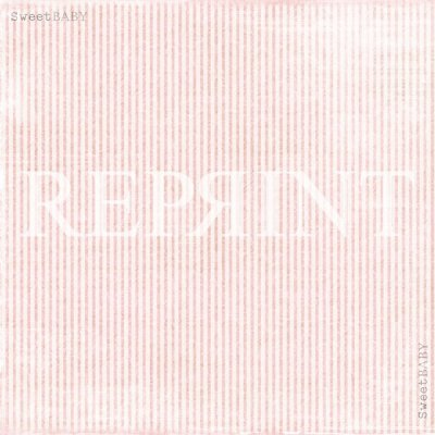 Papper Reprint - Sweet Baby Pink - Pink Stripes