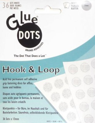 Hook & Loop - Kardborre Glue Dots