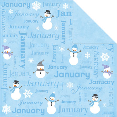 Papper Calendar Collection - January