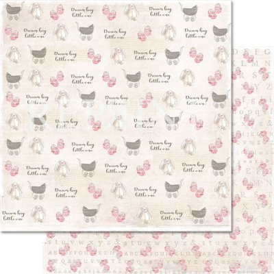 Papper Reprint - Dream big - Little one pink