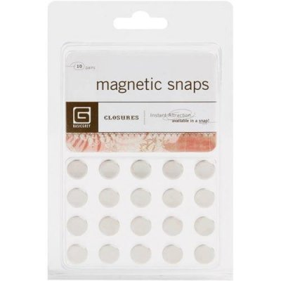 Magneter Basic Grey 20-pack - 1x10mm