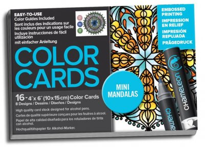 Chameleon Color Cards - Embossed Lines - 10x15 - Mini Mandalas ... 1417a0d641fda