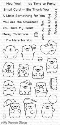 Clear Stamps - My Favorite Things - Bitty Bears