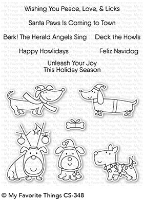 Clear Stamps - My Favorite Things - Deck the Howls