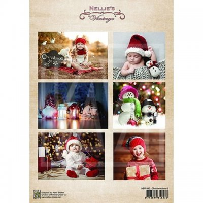 Nellies Vintage Foton A4 - Christmas Time 02
