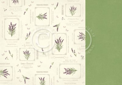 Papper Pion - Scent of Lavender - French Country