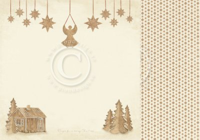 Papper Pion Design - Christmas Wishes - Gingerbread Land