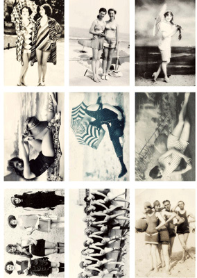 Vintage Foton A4 Reprint - Bathing Beauties