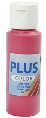 Akrylfärg PLUS Color 60 ml - Primary Red/Cerise